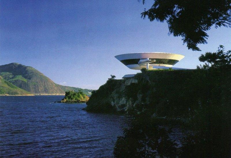 Museo de Arte Contemporaneo Niteroi Brasil
